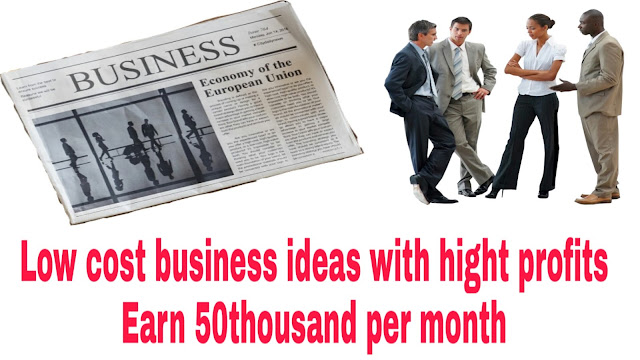 Low cost business ideas with high profit
