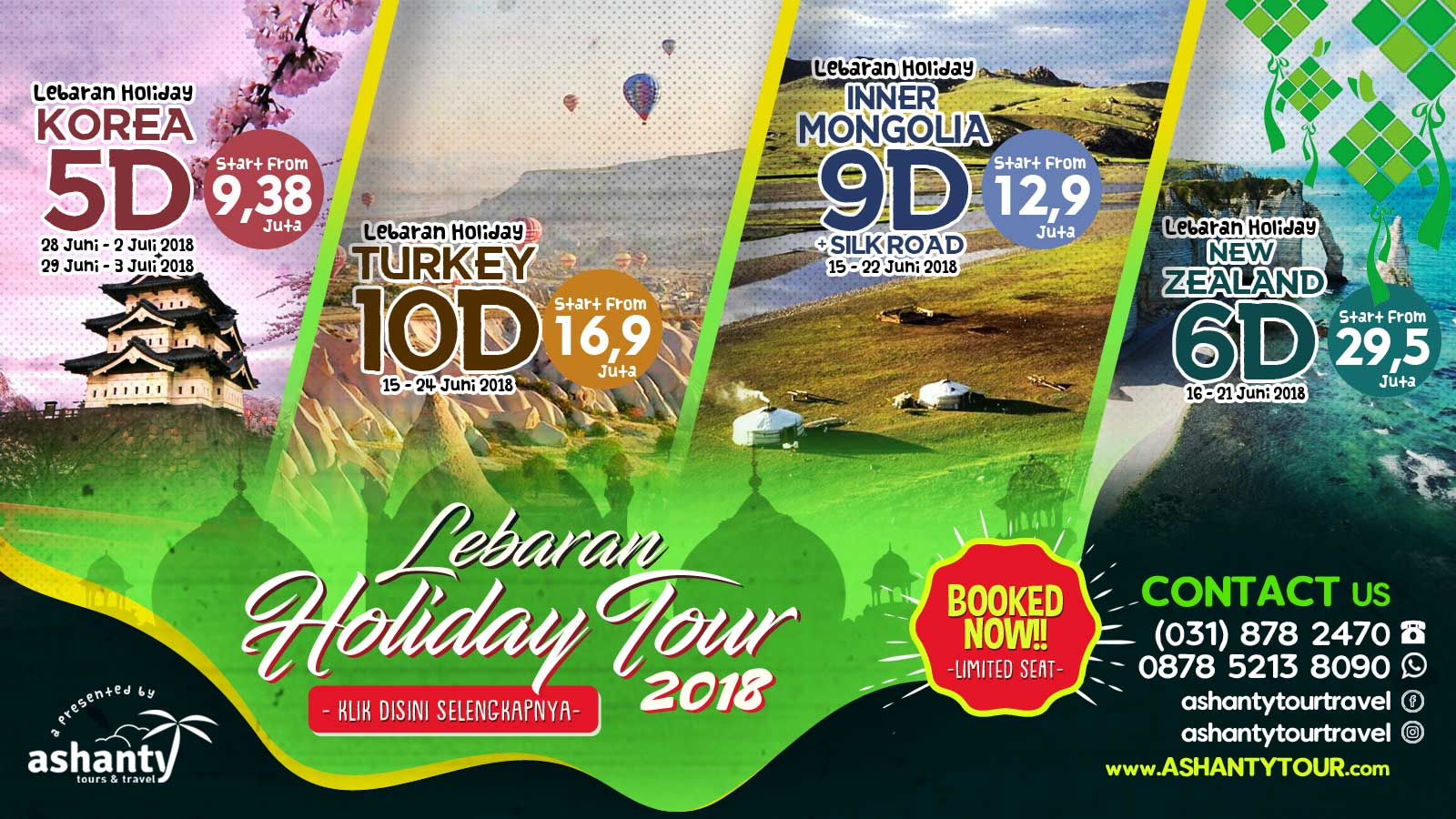 paket wisata liburan lebaran dari surabaya 2018