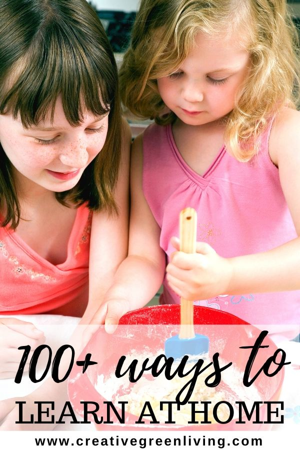 100+ things to do with kids that are cheap of free while school is closed. You can use these ideas during extending quarantines like for COVID-19 / corona virus school closures, on the weekend, on a rainty day or during the summer. Includes indoor and outdoor activities, crafts, learning apps and more. #schoolclosure #quarantine #kidsactivities #homeschool