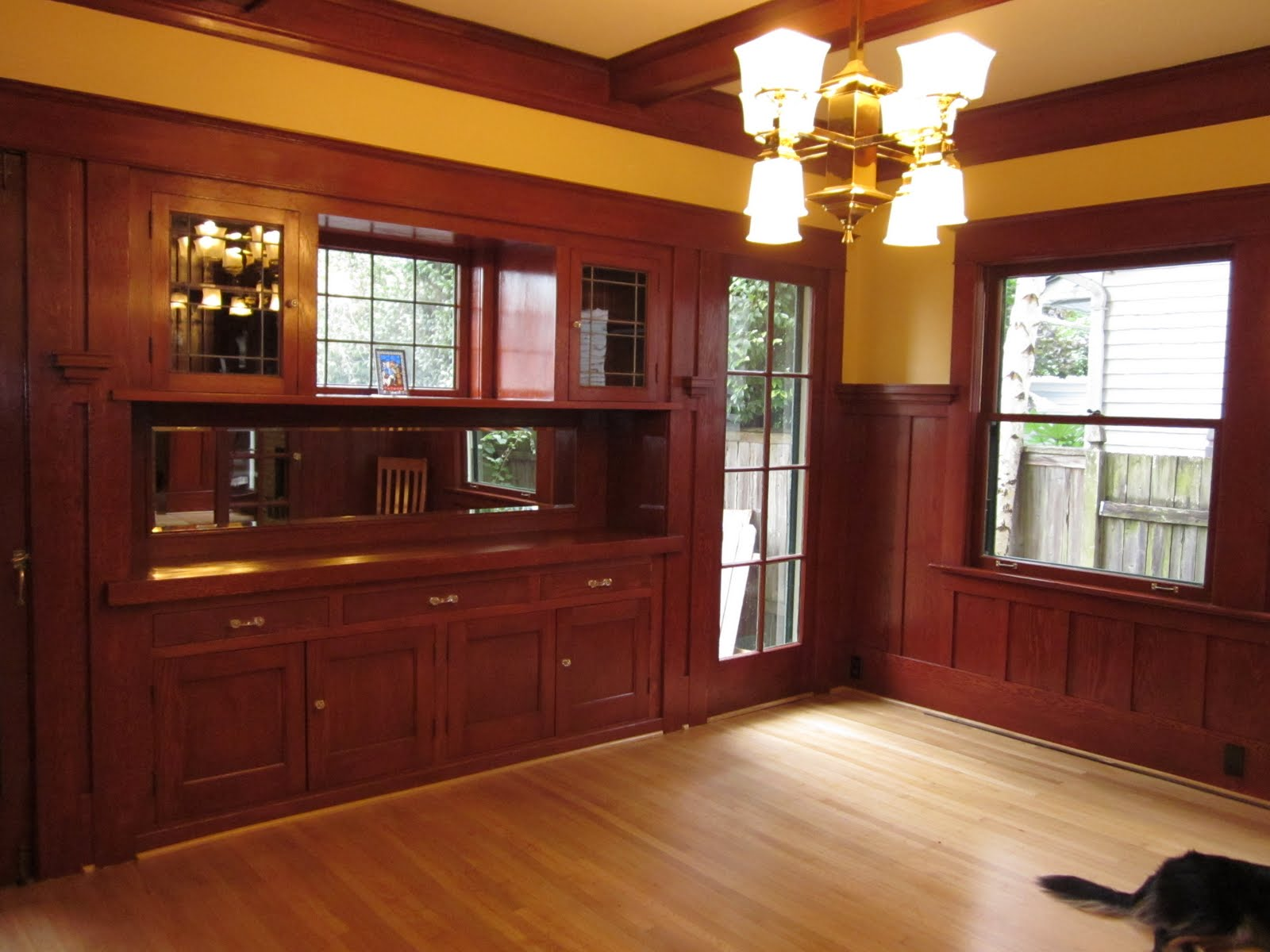 bungalow dining room   Laurelhurst Craftsman Bungalow: Dining Room After Photos