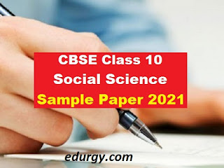 Standard 10 paper style according to the new model considering the situation of Corona Social sceince 2020-2021
