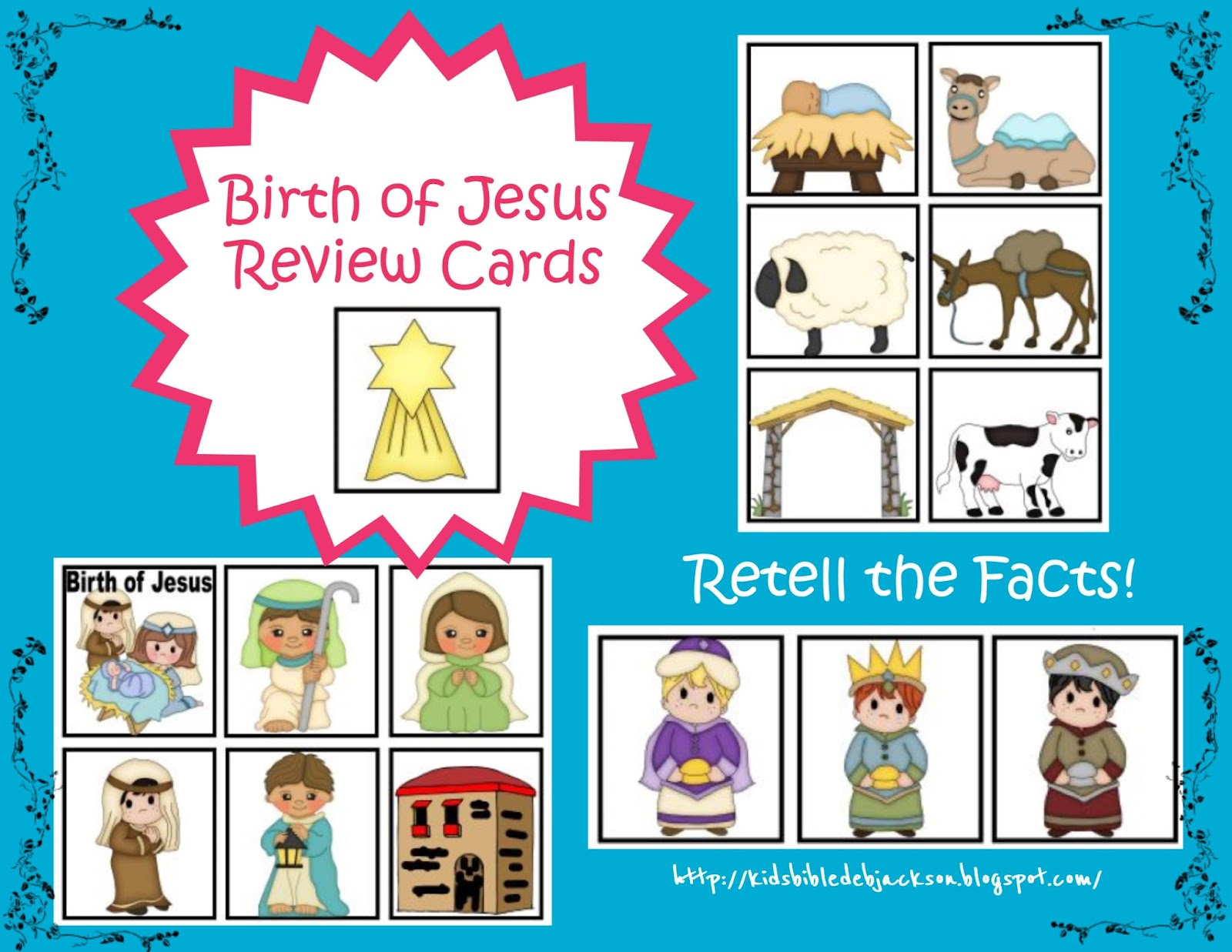 Bible Fun For Kids Birth Of Jesus Book Amp Cards