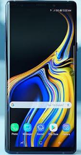 Cara Restart Samsung Galaxy Note 9