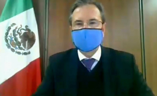El Senado ratifica a Esteban Moctezuma Barragán como embajador en EU