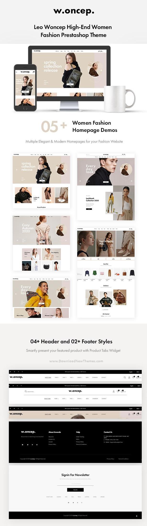 Women Fashion Prestashop Theme