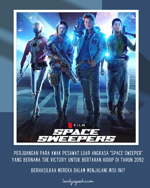 Review dan Resensi Film Space Sweeper Netflix