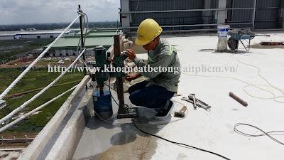 Khoan cắt bê tông tại thị xã Bình Long