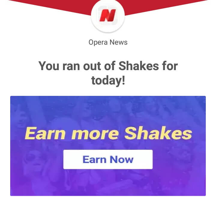 Opera News Shake And Win 2019 - Start Earning Money Now By