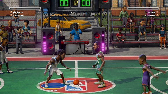 Get ready to slam it from on high with this arcade NBA Playgrounds Hot N Frosty-CODEX