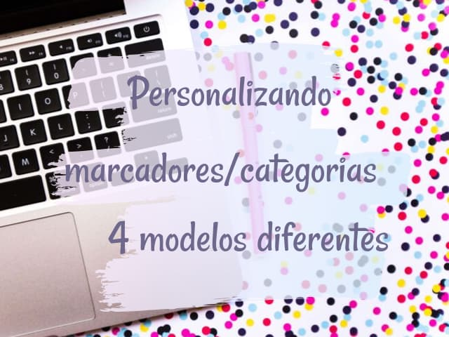Personalização dos marcadores/categorias do blog