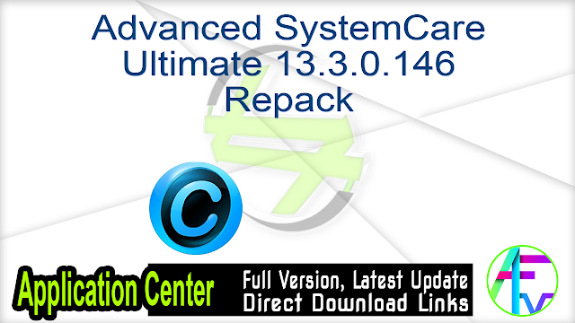 Advanced SystemCare Ultimate 13.3.0.146 Repack