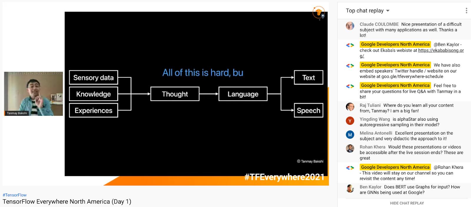 Screenshot of TF Everywhere NA talk