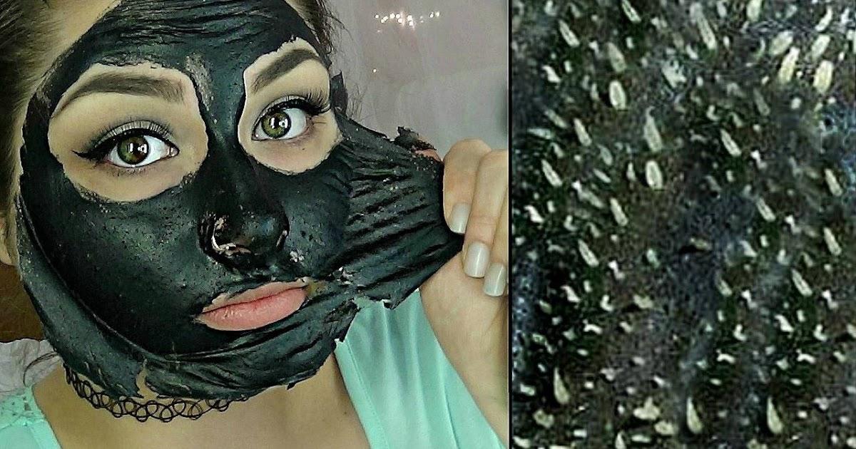 homemade blackhead peel off mask