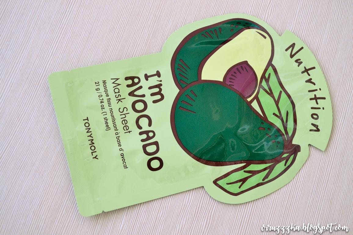 Tony Moly I'm Avocado Mask Sheet