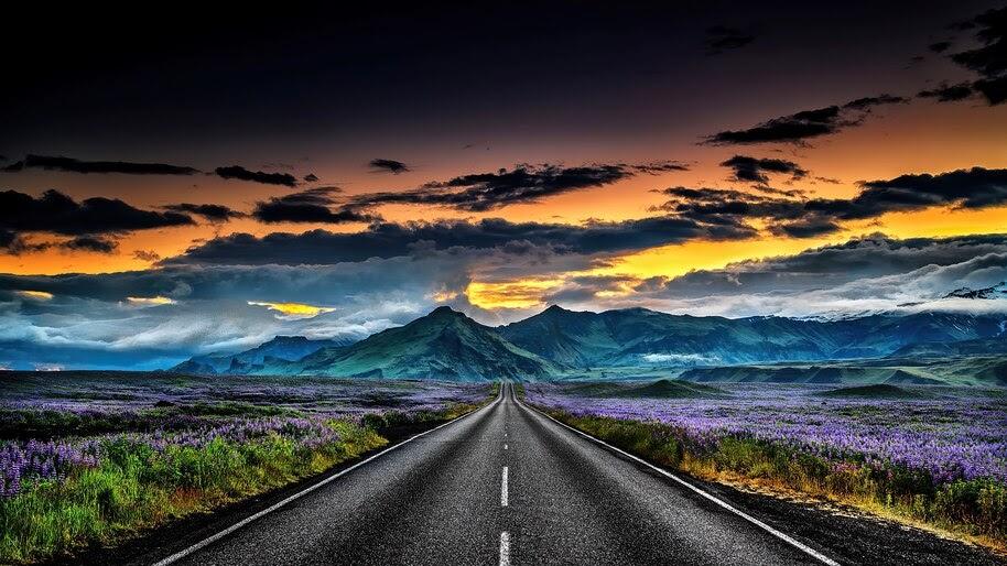 Road, Scenery, Iceland, Landscape, 4K, #6.2204