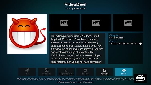 VideoDevil-adult-addon-kodi-19-matrix