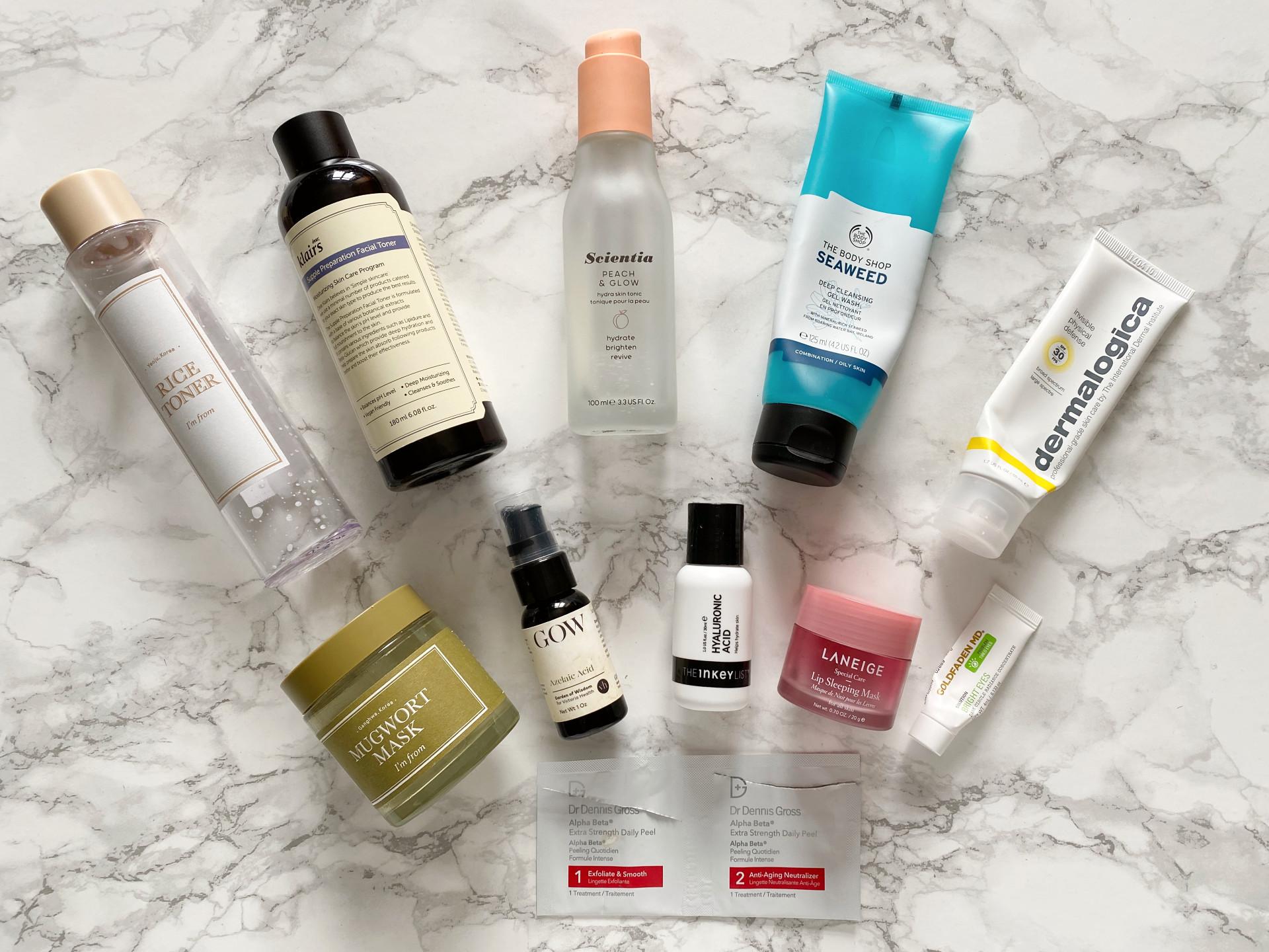 daniellesbeautyblog skincare empties review