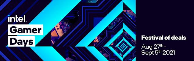 intel gamer days festival of deals
