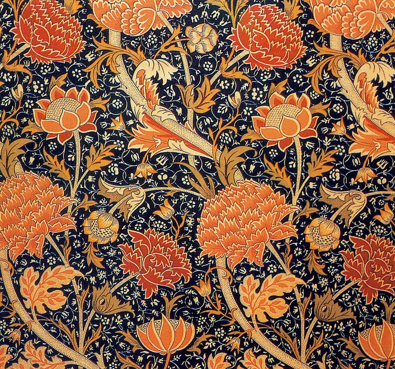Art Artists William Morris Wallpaper Textiles