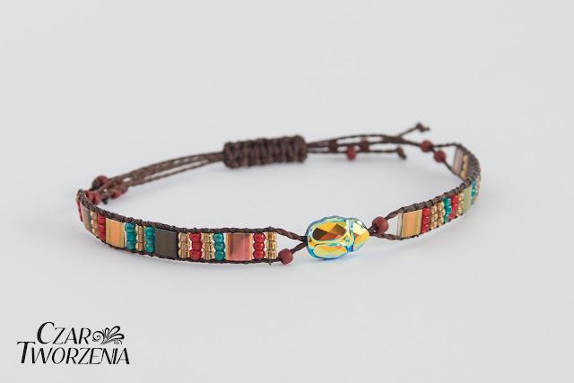 dizajnerska bransoletka wrocław handmade