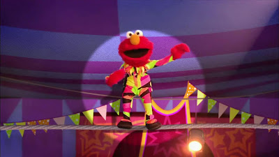 Elmo the Musical Circus the Musical, The Ringmaster, The Great In Betweeny,  High Walking Heidi, Zowie Zown the Upside Down Clown, Sesame Street Episode 4317 Figure It Out Baby Figure It Out season 43