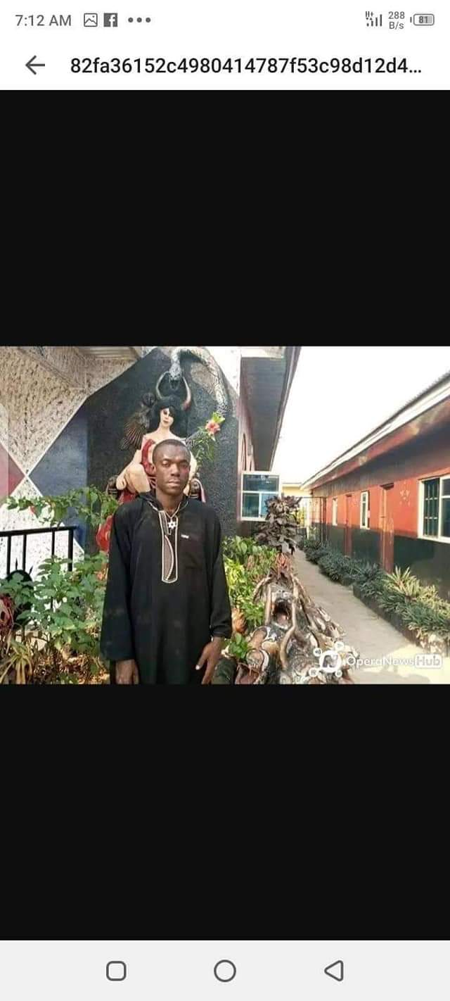 JUST IN: The  founder ,Church Of Satan  in Ohafia Abia State, Ifekwe Udo arrested