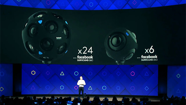 Facebook introduces new 360-degree cameras