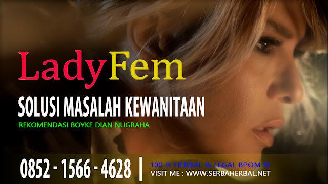 Obat Pelancar Haid LadyFem Rekomendasi Boyke Dian Nugraha