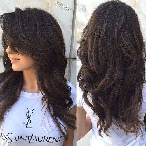 50 Lovely Long Haircuts For Effortless Stylish Looks Layered Thicker Hair And Haircut Styles