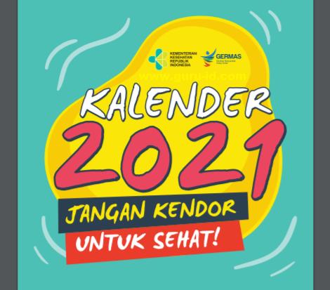 gambar kalender 2021