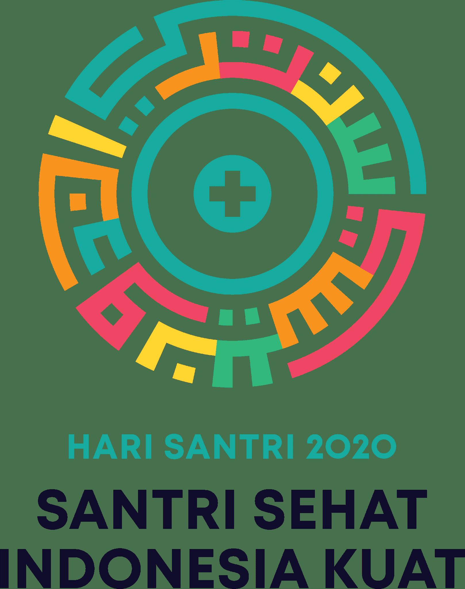Logo hari santri transparan