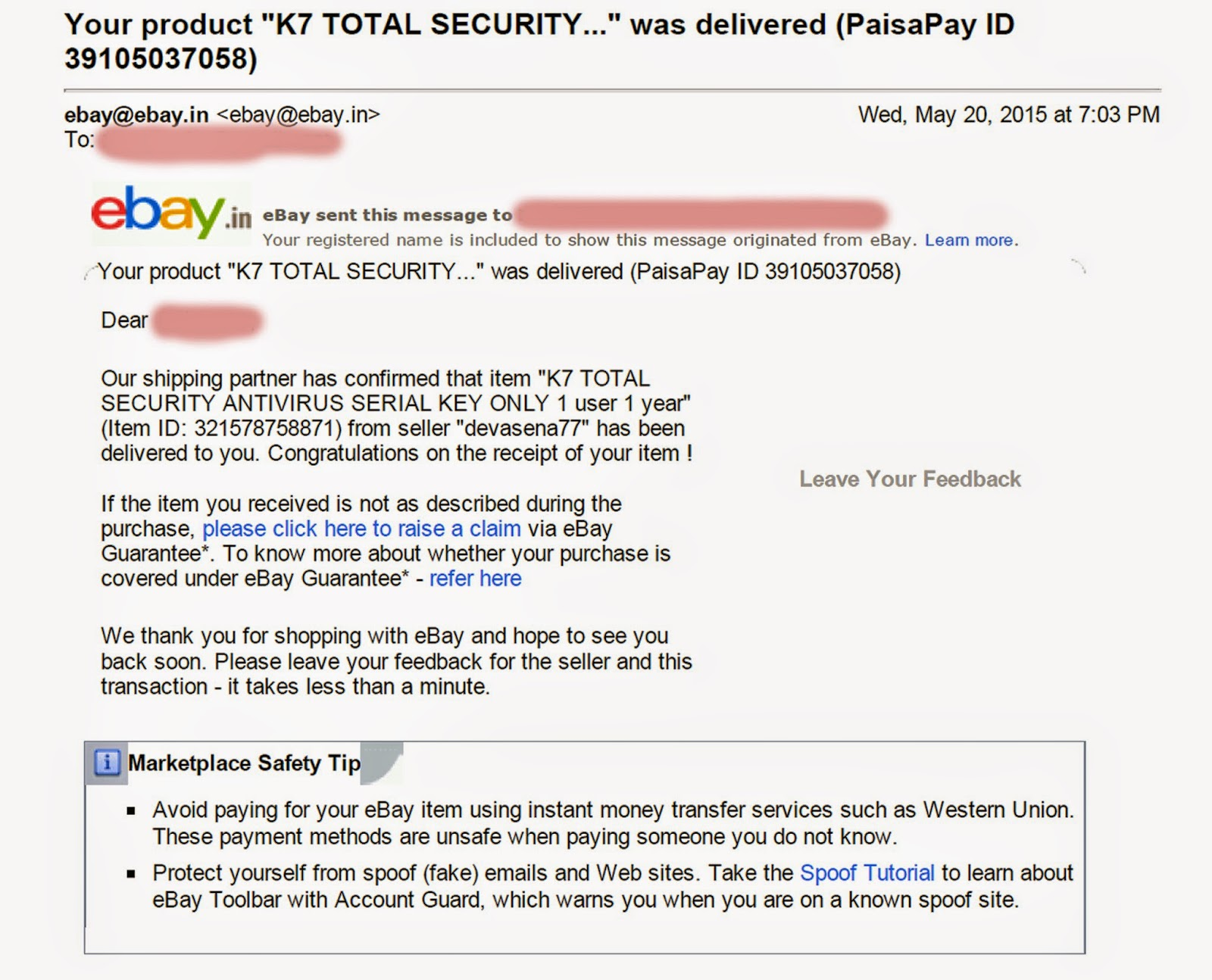 How Ebay And Paisapay Are Harassing Customers Company Effects