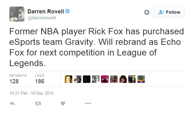 5 kisah Rick Fox, Pendiri Tim eSport sekaligus Legenda NBA