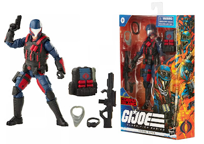 G.I. Joe Classified Series 4 Action Figures by Hasbro – Zartan, Firely, Cobra Viper, and Cobra Infantry Trooper