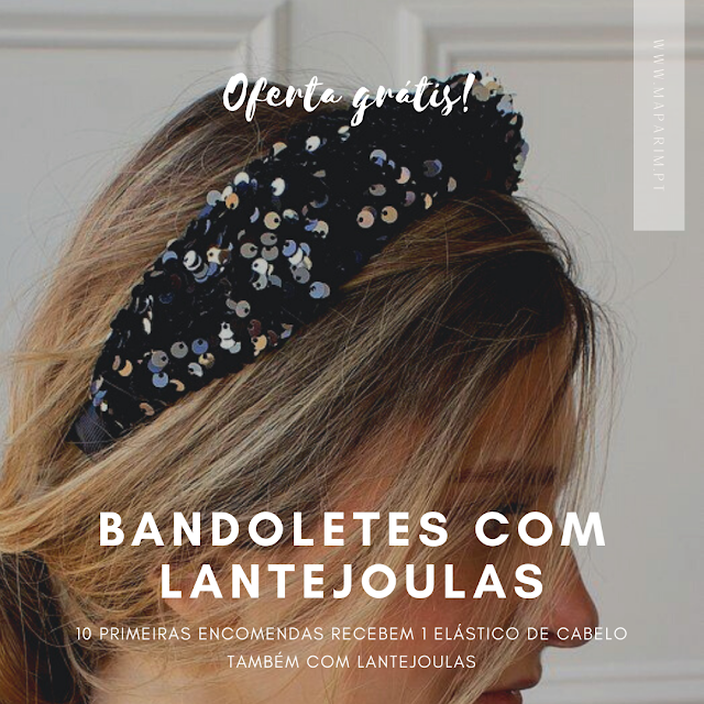 Bandolete com Lantejoulas comprar online