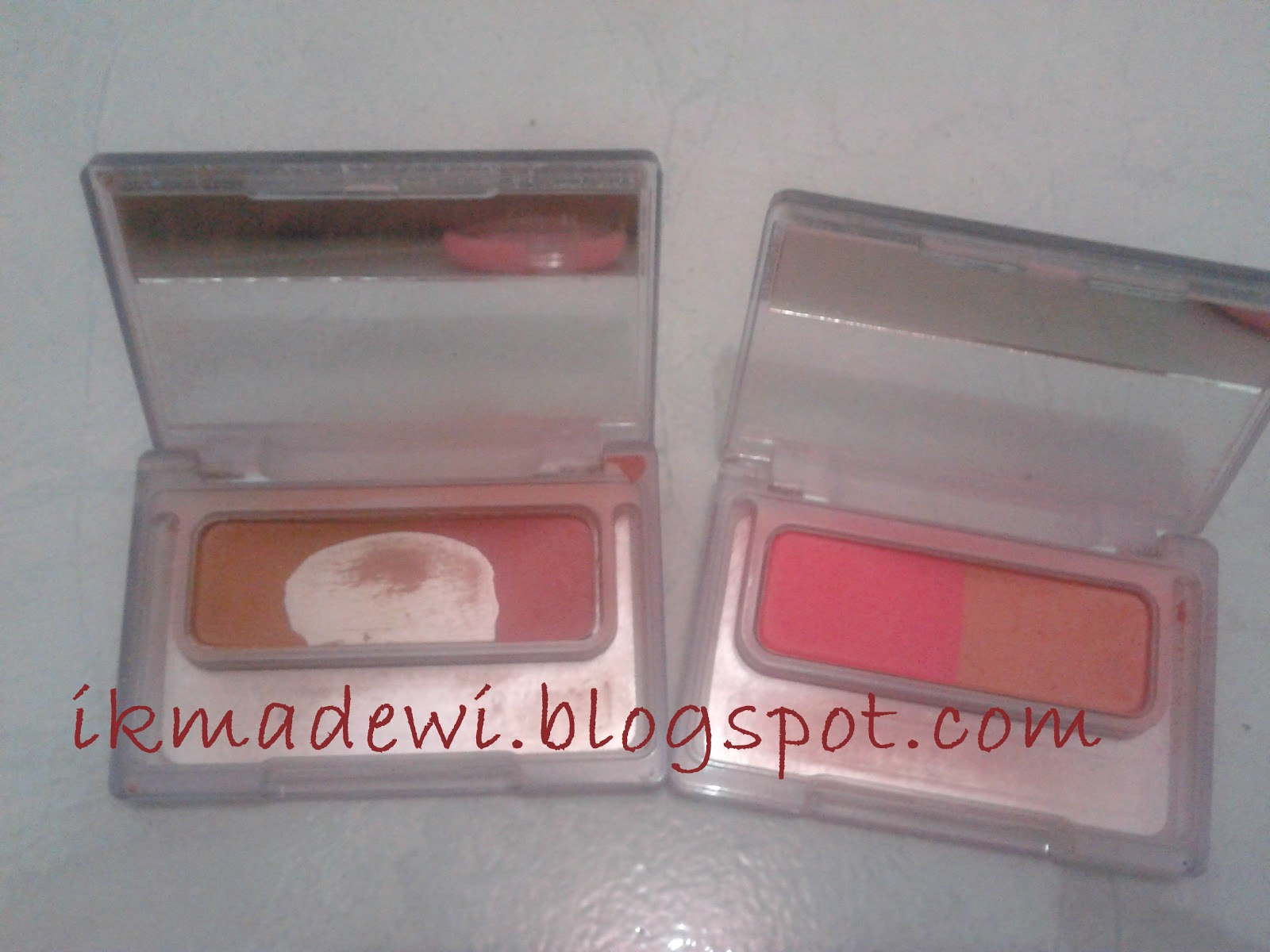 Comparison Blush on