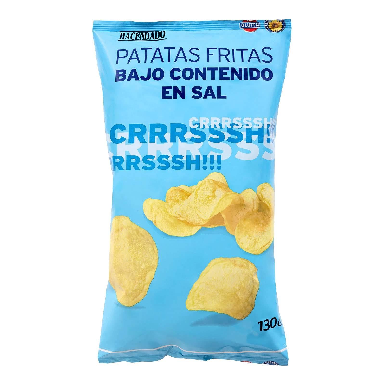 Patatas fritas bajo contenido en sal Hacendado