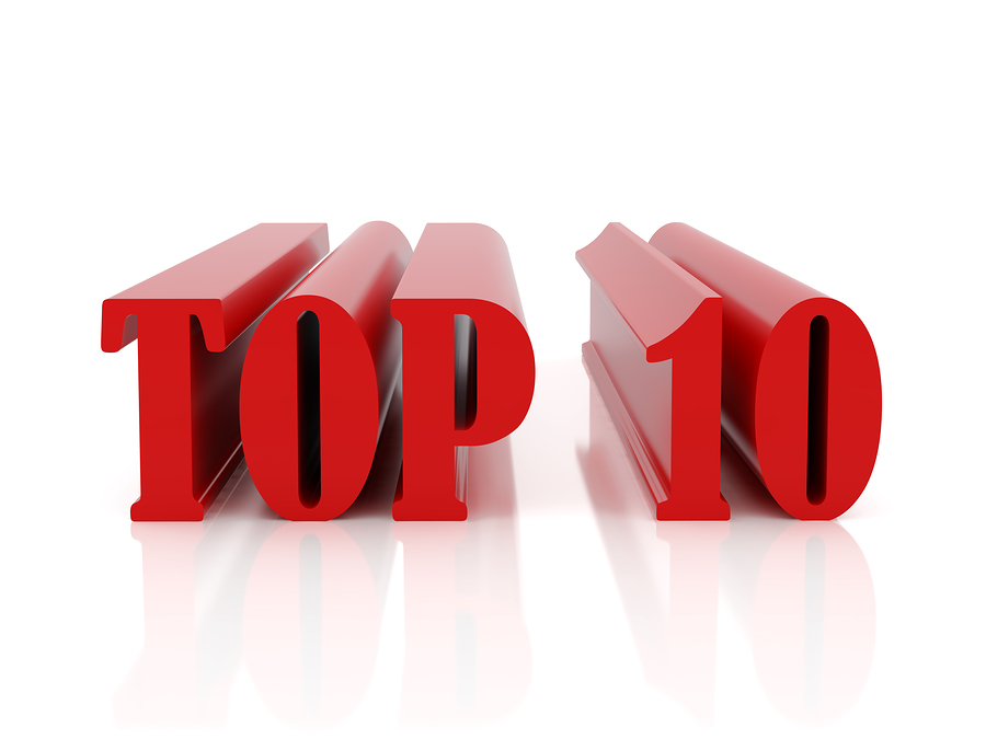 C S Lewis' Top Ten