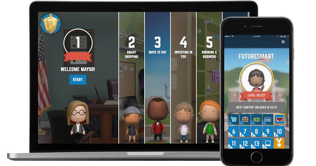 Serious games asking middle school students to make financial futuresmarts uniqueness resides in the fact that it allows players to better visualize and understand the impact of their day to day decisions on their fandeluxe Image collections