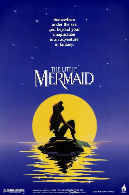 The Little Mermaid 1989 movie posteranimatedfilmreviews.filminspector.com