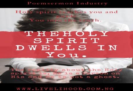 Holy spirit Dwells in You