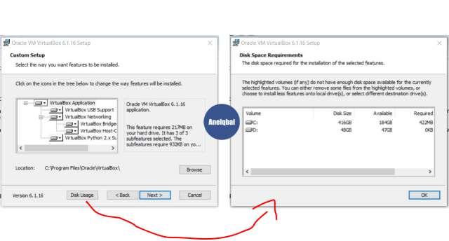 langkah langkah menginstal virtual box