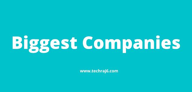 Biggest Companies