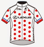 Lexus King of the Mountain (KOM) Jersey