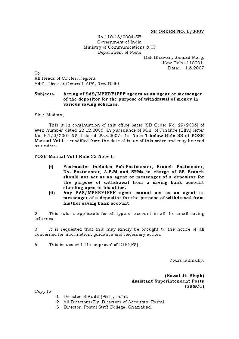 Letter Format For Bank Account Closing Pdf. 15  Subject Closure Premature closure of accounts revision format account form SB 7A regarding NFPE BHIMAVARAM Orders related to Savings Account