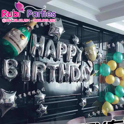 Cửa hàng bán phụ kiện trang trí sinh nhật tại Cầu Diễn