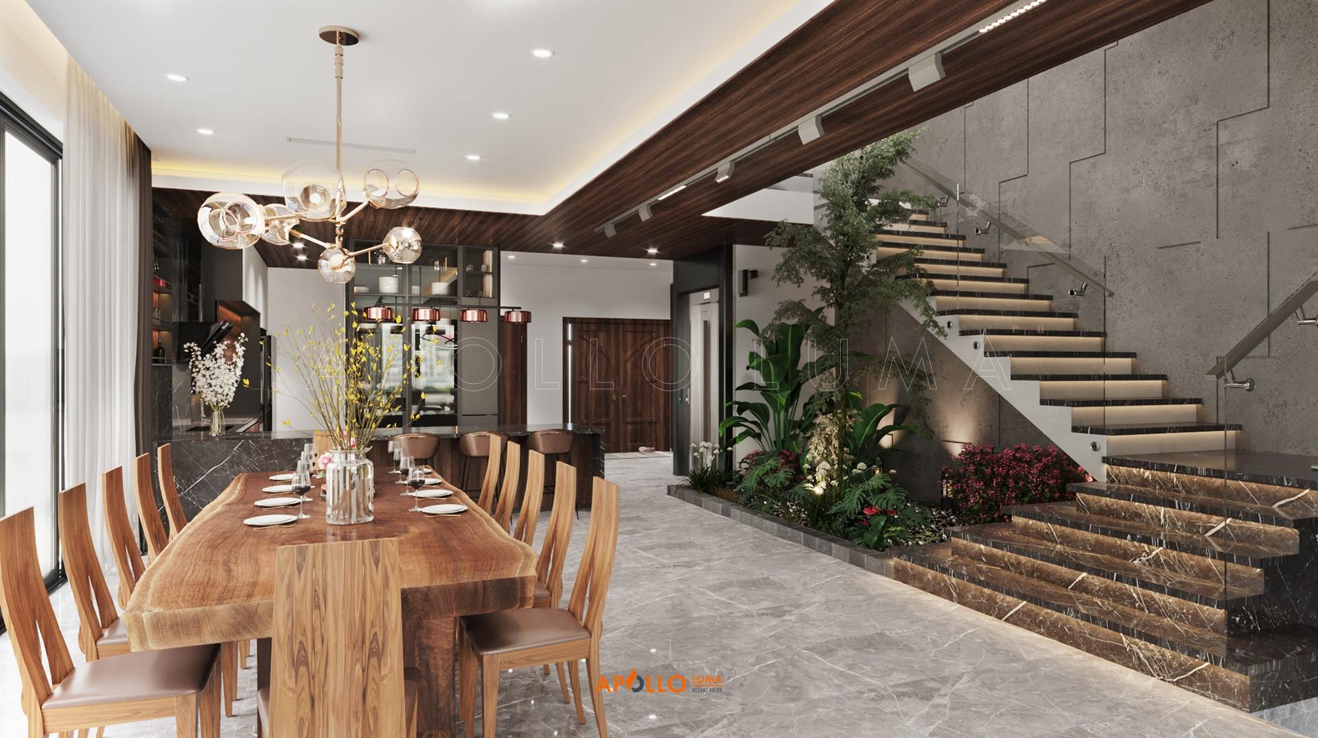 Thiết kế nội thất biệt thự Ecopark Hưng Yên
