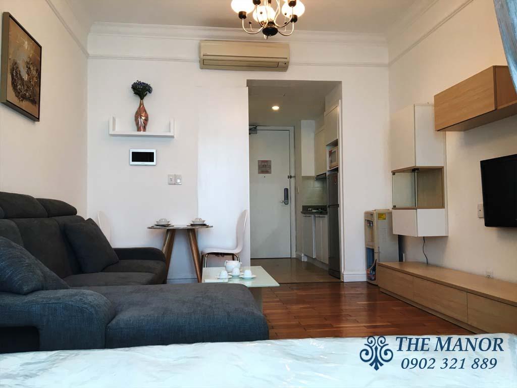 Manor Bình Thạnh cho thuê studio 36m2 giá rẻ - hình 3