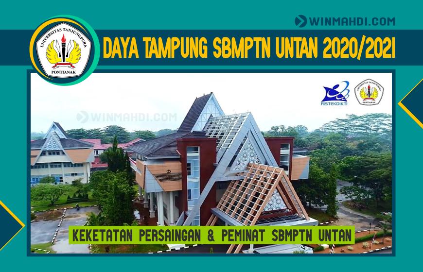 DAYA TAMPUNG SBMPTN UNTAN 2020-2021
