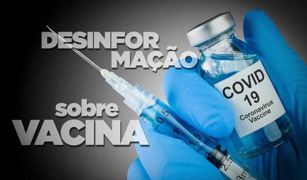 Cuidado com as 'fake news' sobre vacinas contra Covid-19, alerta Anvisa
